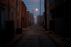 (patrickjoust) Tags: city morning usa house home fog digital america 35mm canon point eos us md alley united north gray foggy patrick maryland row baltimore full fells frame 5d states stm 40mm dslr joust f28 ef sensor estados unidos patrickjoust