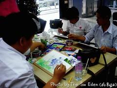 นักเรียนแอนิเมชั่นราชภัฏสวนสุนันทา