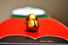 The SnowmaN  and his golden buttons (dimitra_milaiou) Tags: red life buttons greece leather gold bells smile colours color brown green golden athens happiness white lifestyle world winter design milaiou dimitra europe art 2 two snow man snowman minimalism macro    greek      bokeh xmas christmas happy new year  merry