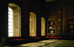 Damascus Room, windows