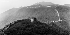 A great divide (WWong_Photo) Tags: china leica asia voigtlander country hike remote greatwall mutianyu
