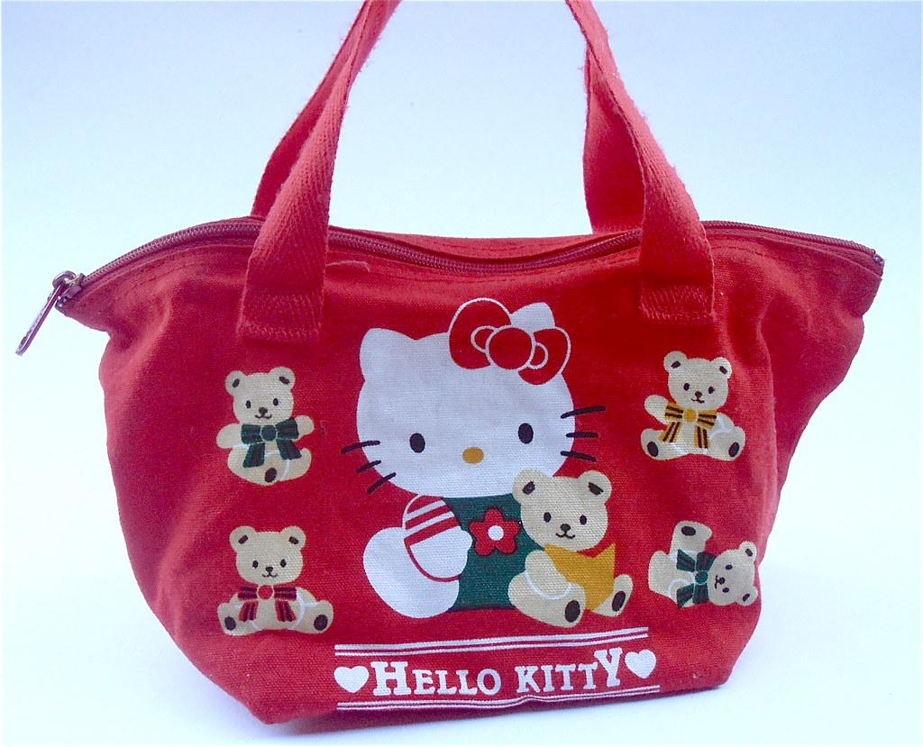 befa8d1bcc8 Vintage Hello Kitty Miniature Bag Hello Kitty Red Bag Hello Kitty Purse  Miniature Hello Kitty Mini