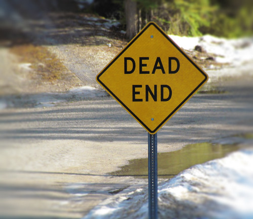 From flickr.com: dead end {MID-70872}
