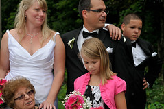 Reflective Moment (Paul Chan - Canada) Tags: wedding ontario umbrella nikon speedlight weddingphotos cls sb800 paulchan waltersfalls nikoncls sb900 nikond300s paulchancanada nikonafs1755mm28geddx 20120812phc3435