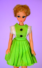 Can anyone identify this dress? (criscrash13) Tags: green doll dress id clone
