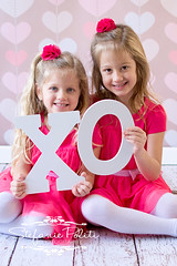 Valentine Mini Sessions - sisters (njmommyof3boys) Tags: family pink sisters children hearts o kisses siblings x valentines xo hugs valentinesday xox hugsandkisses