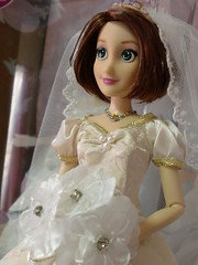 Rapunzel wedding dress (Mamysha) Tags: wedding doll disney rapunzel princesses tangled raiponce