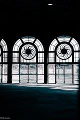 empty spaces (RGL_Photography) Tags: windows newjersey unitedstates asburypark boardwalk artdeco jerseyshore carouselhorse warrenandwetmore windowporn