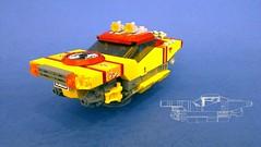 Saab 3000 01 (JPascal) Tags: lego space racer garc