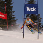 Katrina Voss - Hemlock Ski Club - 18 January 2013 GS Race at Hemlock BC            PHOTO CREDIT: Andrew Forster