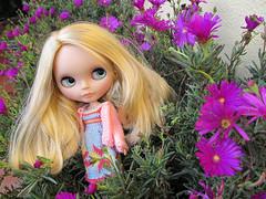 Nicole loves purples flowers