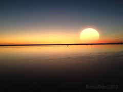 sunsets, Port Terminal Huelva, Spain (Rhannel Alaba) Tags: sunset spain huelva alaba iphoneography rhannel iphone4s