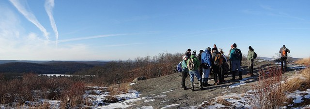 Group at Lichen Trail overlook