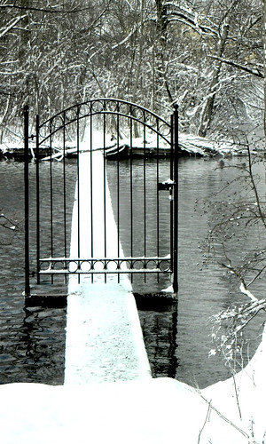 This gate looks like it leads to Narnia