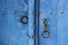 The Blue Door (Been Around) Tags: door blue winter europa europe hiver travellers eu bulgaria blau velikotarnovo bul bulgarien velikoturnovo 2013  concordians thisphotorocks  worldtrekker visipix preobrajenskymonastery