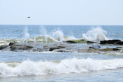Waves coming in (acereporter73) Tags: beach shore oceangrove