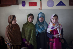 Girls at drop in centre 4498 (shahidul001) Tags: dropincentre child children kid kids girl girls scarf hijab bibijo fatema zulekha student students learner learners education educational primaryeducation refugee refugees homeless garbagecollector garbagepicker horizontal group portrait color colour day daylight quetta pakistan southasia asia drik drikimages