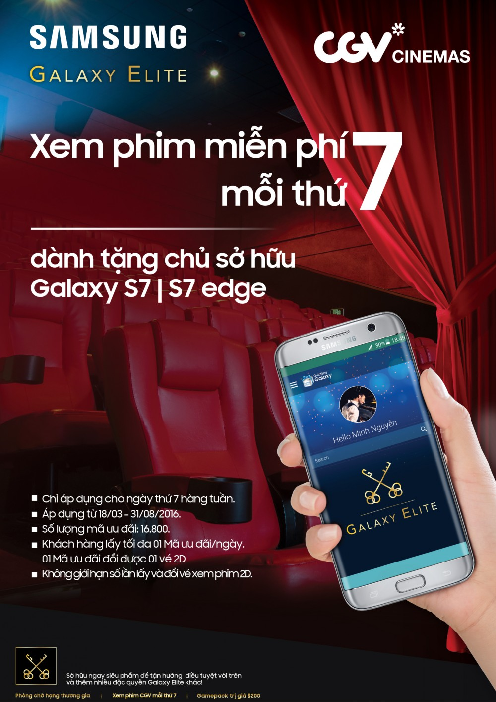 Quà Tặng Từ Samsung Galaxy S7