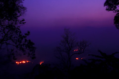 Evening and Fire (mdr.islam) Tags: hill hills evening colorful fire dark night sky tree travel tradition tour tribal beautiful amusing