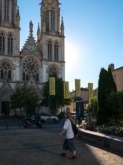 Eglise Saint-Lon (christophemo) Tags: nancy villedenancy lorraine france meurtheetmoselle glise glisesaintlon esplanade place gare religieux btiment passant parvis rue personnage
