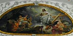 Christian faith art work. (Vieparamsberlon.) Tags: oil painting christian faith jesus church interior vienna austria