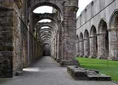 More Arches (Maria .... still trying to find my way!) Tags: abbey fountainsabbey stone arches