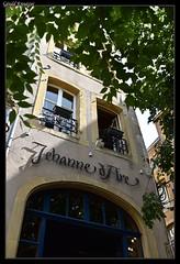 Balade Messine (57) (gerald.kreutzer) Tags: metz 57 57000 lorraine ville monument maison faade glise vathdrale temple neuf rue porte paysage ruelle france balade dcouverte couleur place jeanne arc