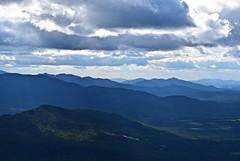 Mountain Layers and Sun Beams (thaddeusces) Tags: adk climbing hiking mountain mountains