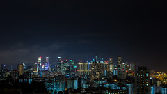 Downtown Core (liewjw) Tags: buildings cityscape singapore urban nightscapes nightphotography downtown canon city night architecture longexporsure travel skyline