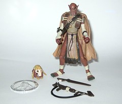 qymaen jai sheelal pre-cyborg grievous star wars the thirtieth anniversary collection basic action figures with coin 2007 hasbro b (tjparkside) Tags: star wars thirtieth anniversary collection 30th qymaen jai sheelal expanded universe eu tac pre cyborg precyborg grievous general visionaries 2007 3036 30 36 basic action figure figures hasbro collector collectors coin bone mask cape harness outland rifle sword swords rifles gun weapon weapons kaleesh warlord