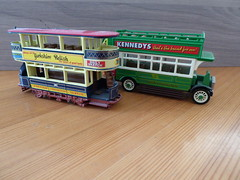 Preston Typ Tramcar/A.E.C.S Type Bus 1922 Scale 1:87 (thomaslion1208) Tags: bus coach h0 187 scale187 modell modellbau matchbox oldtimer