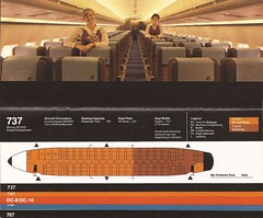 UAseatguideJUL79 03 (By Air, Land and Sea) Tags: airline united unitedairlines aircraft airplane seating diagram layout 737