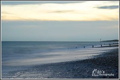 Worthing beach. (Sb's Photography) Tags: worthing worthingbeach nikond7000 nikon nikon1755f28 slowshutterspeed slowshutter seascape sea beach groynes water