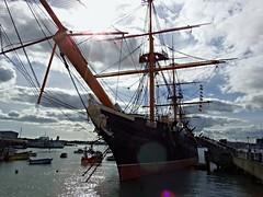 HMS Warrior Portsmouth (Nick.Bayes) Tags: hmswarrior portsmouth historic dockyard