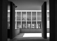Complesso Monte Amiata,Gallaratese,Milano (Irene Guglielminetti) Tags: bw city urban italy irene guglielminetti