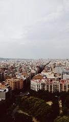 View from La Sagrada Familia (katiebettychristensen) Tags: la sagrada familia gaudi church view