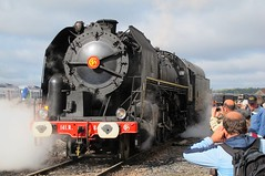 141-R-840_Longueville-b (Didier Duforest) Tags: 141r840 ajecta steamlocomotive railway 141r chemindefer locomotiveàvapeur train journéesdupatrimoine baldwinlocomotiveworks europeanheritagedays