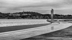 Lake View in Greyscale (NRHPhotography) Tags: department defence lake burley griffin canberra australia 2016 parkes australiancapitalterritory au