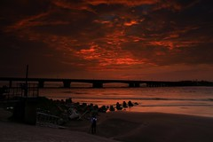 the sunset after the Maggie typhoons (JackTu007) Tags: sunset cloud typhoons magical