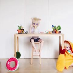 Naruto: Life with Clones (lightlybattered) Tags: naruto mdd dollfie dream mini custom volks doll bjd kage bunshin no jutsu