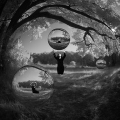 enter my sphere (old&timer) Tags: background infrared blackandwhite filtereffect composite surreal model deviantart silvietstock song4u oldtimer imagery digitalart laszlolocsei