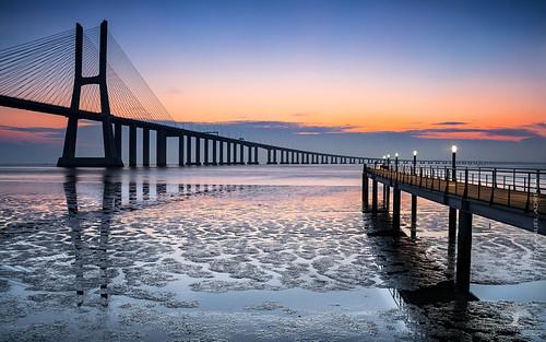 Vasco da Gama Bridge - Imposing