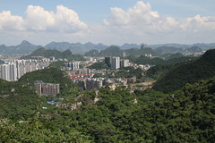 Liuzhou/ 2434 (Petr Novk ()) Tags:  china na  guangxi  asia asie  liuzhou cityscape city architecture   building    hill karst landscape green