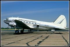 N9761Z Intermountain (Bob Garrard) Tags: airport run willow commando curtiss c46 yip usaaf intermountain kyip cfczi n9761z 4478719 n1672m n91bl