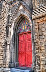 Chapel Door. (Kashish Bhatia) Tags: door church colors nikon vibrant chapel nikkor mysore hdr tonemapped d5000
