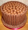 Chocolate Malteser Cake (A Cherry On Top Scotland) Tags: birthday cake chocolate malteser