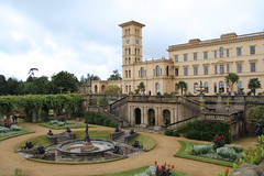 Osborne House - East Cowes Isle of Wight (England) (Meteorry) Tags: county uk greatbritain england house castle english garden island europe cloudy unitedkingdom britain jardin september isleofwight solent british fountains residence palazzo chteau princealbert sculptures queenvictoria osborne 2012 eastcowes le fontaines summerresidence meteorry italianrenaissance thomascubitt