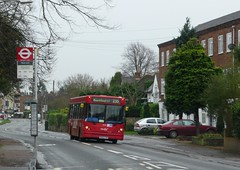 235 at Manor Lane (bobsmithgl100) Tags: bus nimbus surrey dennis dart caetano greenstreet fvr sunbury slf route235 8749 rn52 abelliolondon rn52fvr