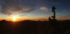 Sunset Peak (rvr) Tags: sunset panorama grancanaria tenerife lagomera roquenublo pwpartlycloudy lices7010019