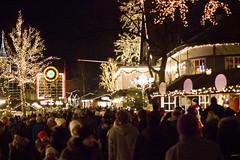 Christmas at Liseberg (Amandhh) Tags: christmas winter people cold night dark evening liseberg christmasdecoration christmaslight